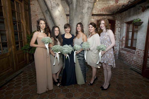 tan-nude-bridesmaids-dresses