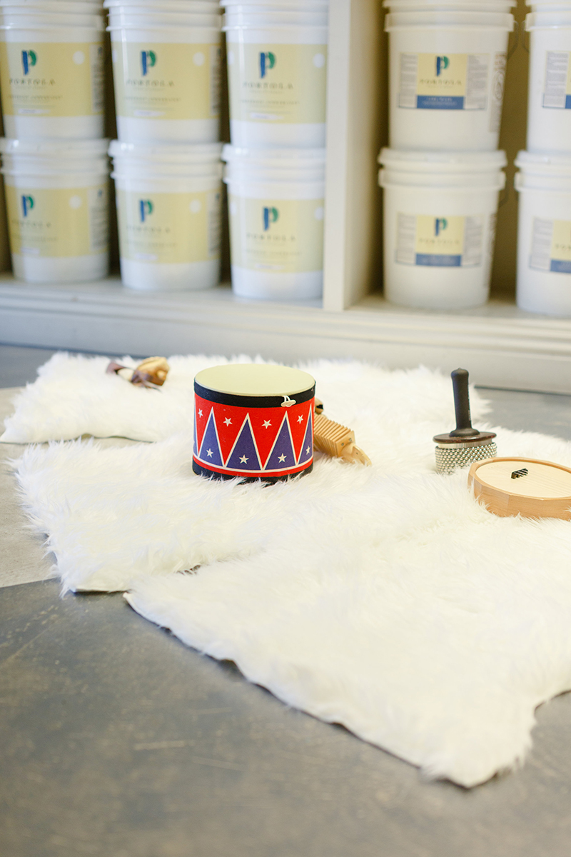 Kids-Party-Play-Area-Sheepskin-Rugs