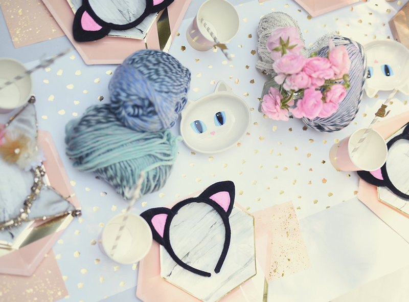 kitty cat 2nd birthday party